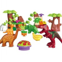 Pompy Dino Paradise Building Blocks