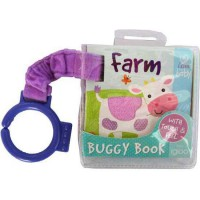 [HelloPandaBooks] FARM I Love My Baby Buggy/Stroller Board Book (with touch & feel on front cover)