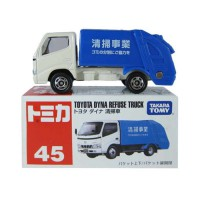 Die Cast Tomica 45 Toyota Dyna Refuse Truck