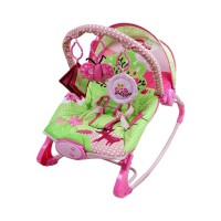 Sugar Baby Little Owl 10 in 1 Premium Rocker - Baby Bouncer / Ayunan Bayi - Pink