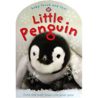 [HelloPandaBooks] Little Penguin Baby Touch and Feel Board Book