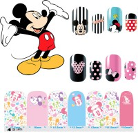 HO5123 - Nail Sticker Kuku Disney Mickey Mouse