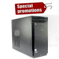 Acer Aspire PC TC-710 Core i3 Ram 4gb Hdd 500gb - Black
