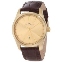 [macyskorea] Lucien Piccard Mens 11568-YG-010 Eiger Gold Dial Brown Leather Watch/1615601