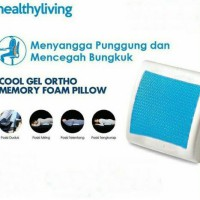 Cool Gel Ortho Memory Foam Pillow