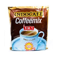 Indocafe Coffemix 3 in 1 [100 Sachet/20 g]
