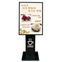 Retractable front panel light stand OALP-BK1600 A2 billboards billboard signs menu board stand Catalog Catalog