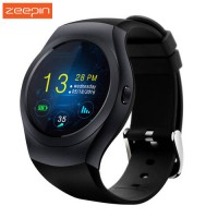 [globalbuy] KS2 Round Bluetooth Smart Watch Phone MTK2502C HD Full Round Touch Screen Supp/4431847
