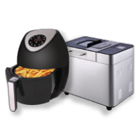 Mastoso Air Fryer MT-77D & Bread Maker BM-77