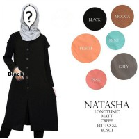 GOOD QUALITY FABRIC NATASHA LONGTUNIC