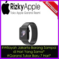 Original Apple Watch Stainless Steel Link Bracelet 42MM Black MJ482 Garansi Resmi 1 Tahun