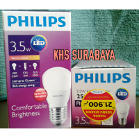 Lampu Bohlam LED Philips warm white / kuning 3.5 watt 3watt 3w 3 w Bulb led 3w Philip Kuning Promo