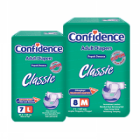 [Paket 2 ball] Confidence Classic Adult Diapers size M8 / L7