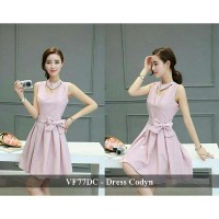 Dress Wanita Model Baru | Dress Natal Murah Wanita | VF77DC - Dress codyn