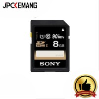 Sony SF-UY SDHC 8GB Up To 90Mbps C10 U1 UHS