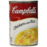 [macyskorea] Campbells Condensed Soup, Chicken with Rice, 10.5 Ounce (Pack of 24)/8888371