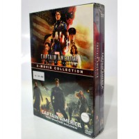 [DVD] CAPTAIN AMERICA : 2-Movie Collection (DVD Box Set)
