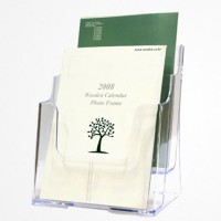 FU A5 2 단 leaflet holder acrylic catalog holder, Tokyu holder, the memokkot, document holder, acrylic holder