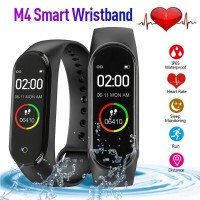 Smartband M4 Smartbracelet Anti Air Support Android dan iPhone Fitur Lengkap