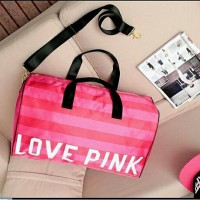 [VICTORIA'S SECRET] LOVE PINK TRAVEL BAG | ORIGINAL BRANDED | 100% AUTHENTIC | PINK