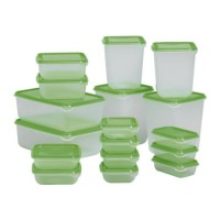 IKEA Pruta Food Container Green