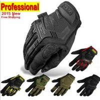 [globalbuy] 2016 New Mechanix Wear M-Pact Army Military Tactical Gloves Outdoor Paintball /4323781