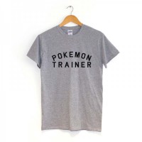 [JersiClothing] Unisex T-Shirt Pokemon Trainer - Abu-Abu