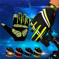 [globalbuy] Mens Cycling Gloves Women Full Finger Bike Bicycle MTB Gloves Touch Screen Gel/4323786