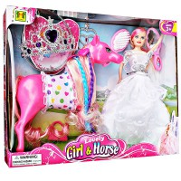 BARBIE LOVELY WITH PONY