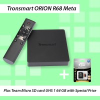 TRONSMART Orion R68 Meta Android TV Box + TEAM Micro SD UHS-1 64GB