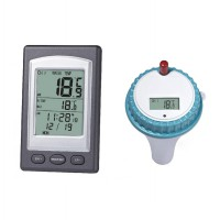 Wireless Thermometer In Swimming Pool Spa Hot Tub Waterproof Thermometer|PK01500