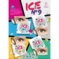 SOFTLENS X2 ICE NO 9 / SOFT LENS EXOTICON ICE N9 3 TONE KEMENKES