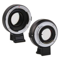 [globalbuy] Top Quality Viltrox Auto focus Reducer Speed Booster Adapter for Canon EF EOS /3663458