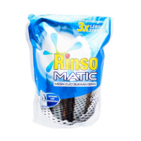 Rinso Matic Liquid Front Load Detergent Pouch 1600 ml