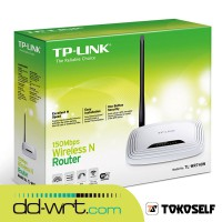 TP-LINK TL-WR740N DD-WRT SuperChannel 150Mbps Wireless N Router TL WR740N