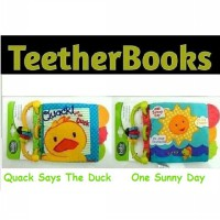 TE0002 - Teether SoftBook Carter