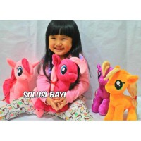 BONEKA PELUK PLUSH DOLL MY LITTLE PONY UKURAN KECIL