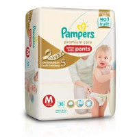 Pampers Popok Premium Care Active Baby Pants - M 30