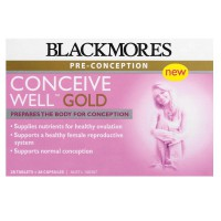 Blackmores Conceive Well Gold 28 Tablets + 28 Kapsul