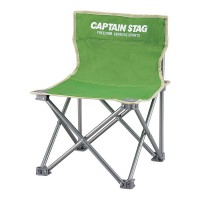 Captain Stag Folding Mini Chair Green