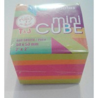 STICKY NOTES MINI CUBE 400 LEMBAR ( 50 X 50 mm)