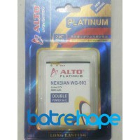 Baterai Battery Double Dobel Power Alto NEXIAN WG 003 3200Mah