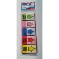 STICKY NOTES /POST IT TOM AND JERRY TRANSPARENT FLAG 55 MIX