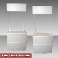 Event Desk Promosi Polos (Tanpa Sticker)