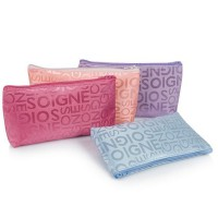 3PCS Pouch Kosmetik Korea Motif Abjad / Korean Cosmetic Bag pouch