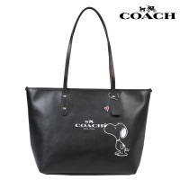 COACH X PEANUTS SNOOPY CITY ZIP TOTE BAG - LIMITED EDITION
