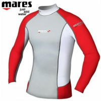 Alat Selam / Rash Guard Mares Trilastic L-Slevee *Red