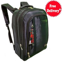 Polo World Tas Ransel Backpack 01 , slot laptop max 15 inch - Hitam