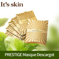 [Its Skin] PRESTIGE Masque Descargot 25g * 5 / Mask Sheet