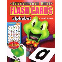 [HelloPandaBooks] Flash Cards Alphabet (Small Letters) with Mini Chart Inside! (Contains 32 Cards)